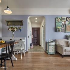 精选面积90平混搭二居客厅装饰图片欣赏