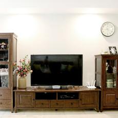 精美大小97平美式三居客厅装修欣赏图