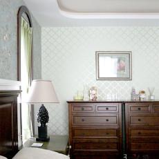 热门面积99平美式三居卧室装修实景图片大全