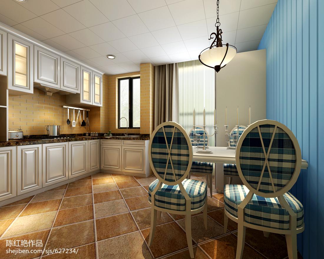 地中海厨房图片大全欣赏