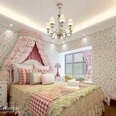 精选110平米四居卧室中式装修效果图片大全