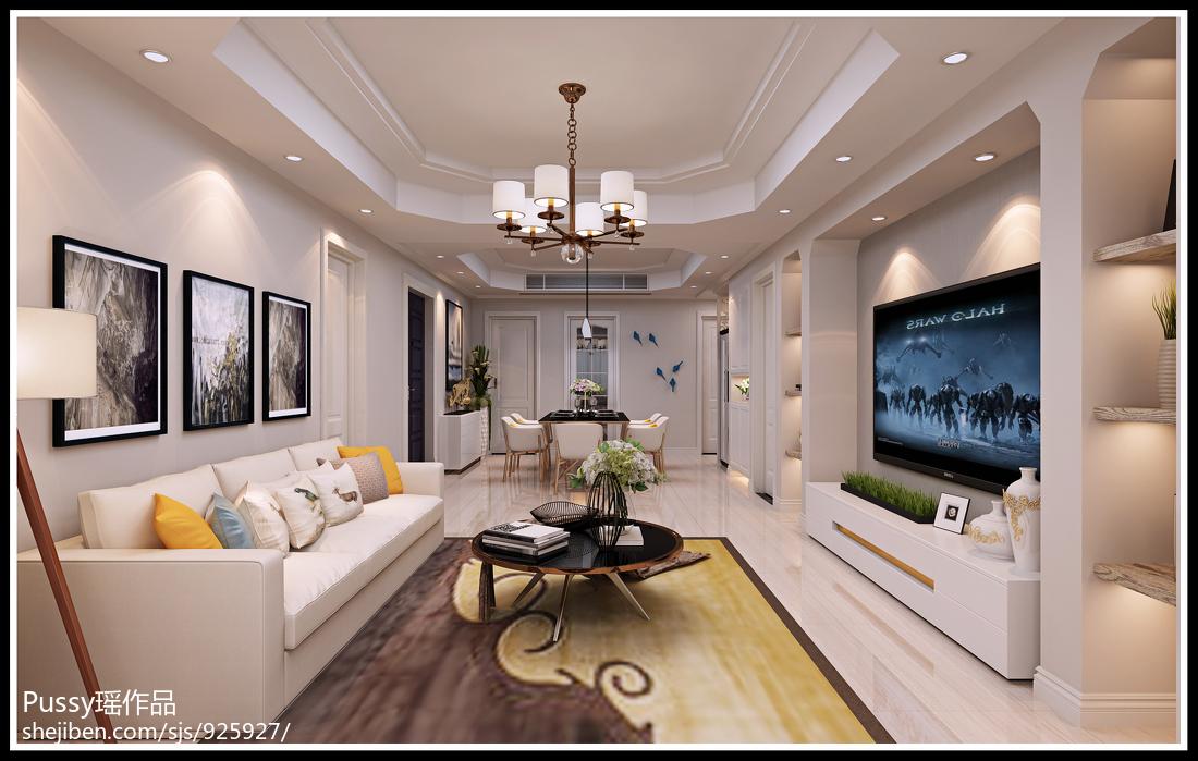 简约时尚家装客厅设计