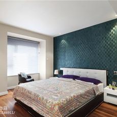 热门98平米三居卧室现代效果图