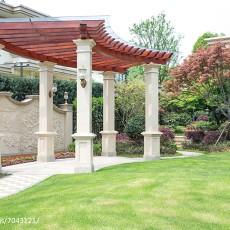 热门142平米美式别墅花园实景图片欣赏
