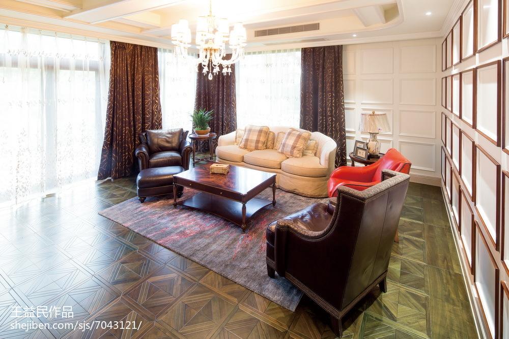 精选美式别墅休闲区装修设计效果图片大全