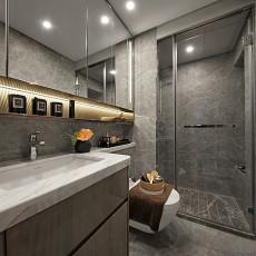 热门混搭卫生间装修设计效果图片欣赏