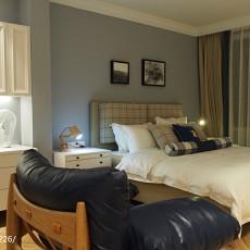 热门120平米美式别墅卧室装饰图片大全