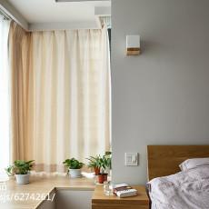 精选108平米三居卧室日式装修实景图片大全