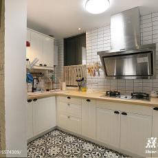 典雅51平混搭二居厨房布置图