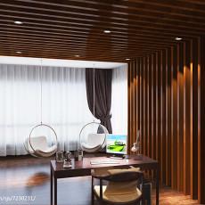精美现代四居书房设计效果图