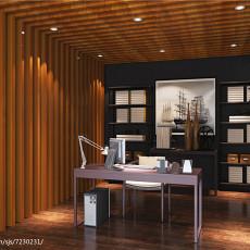 精美面积142平现代四居书房装修欣赏图