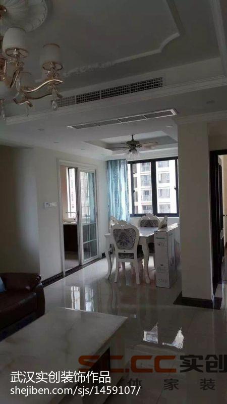 简单低调现代风三居室装修效果图