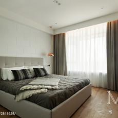 精选95平方三居卧室现代欣赏图片