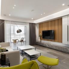 轻奢122平现代三居装修设计图