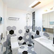 热门三居卫生间北欧装修设计效果图片欣赏