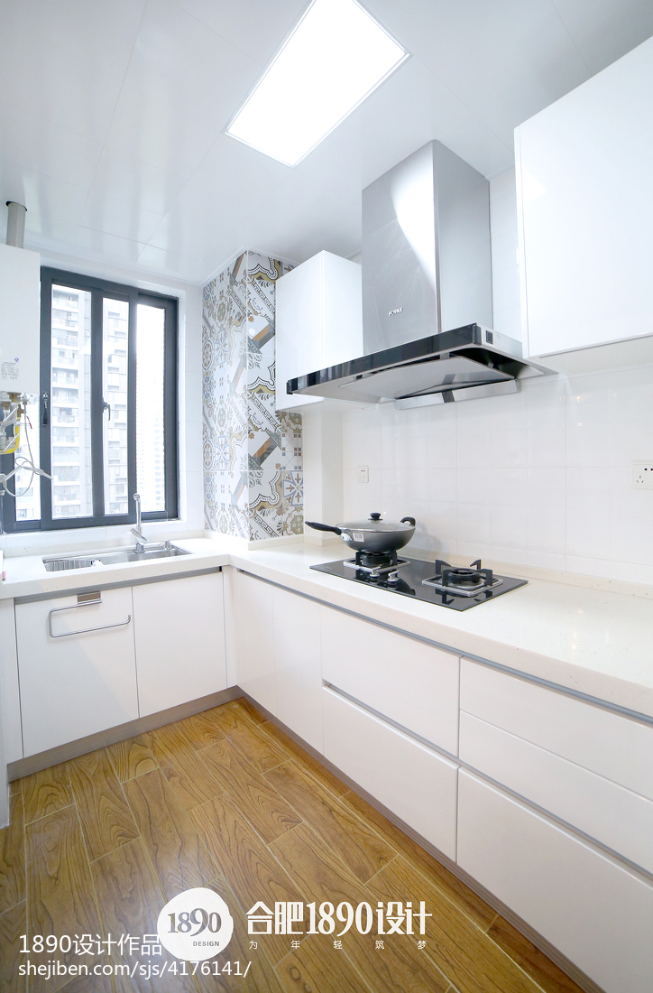 精美107平米三居厨房北欧欣赏图片大全