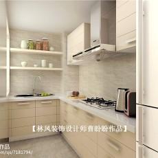 精美现代二居厨房装饰图片大全