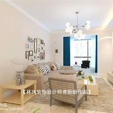 现代风格100平米两室一厅装修效果图大全