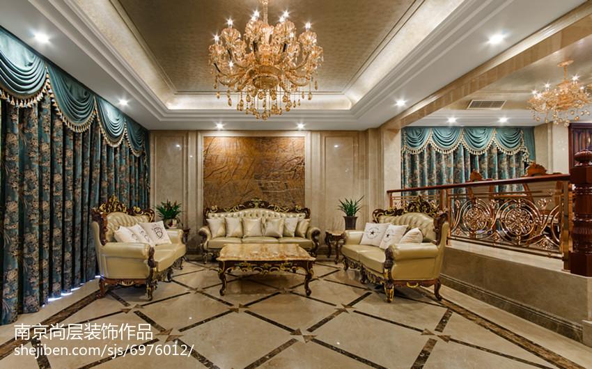 新古典风别墅客厅设计