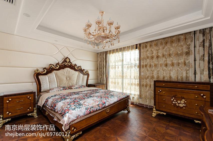 家居新古典风格卧室效果图