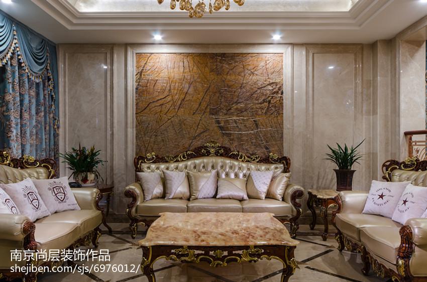 面积118平别墅客厅新古典欣赏图片大全