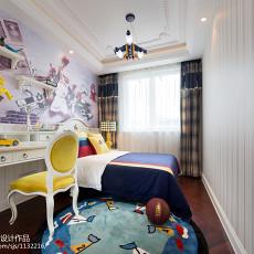 精美现代儿童房效果图片欣赏