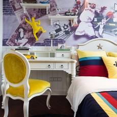 95.9平2018现代卧室装修设计效果图片