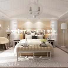 精美面积127平别墅卧室欧式装修图片