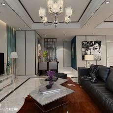 热门大小96平现代三居客厅欣赏图
