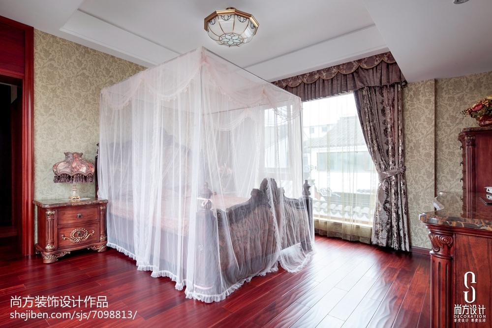 141平米中式别墅卧室装修图片大全