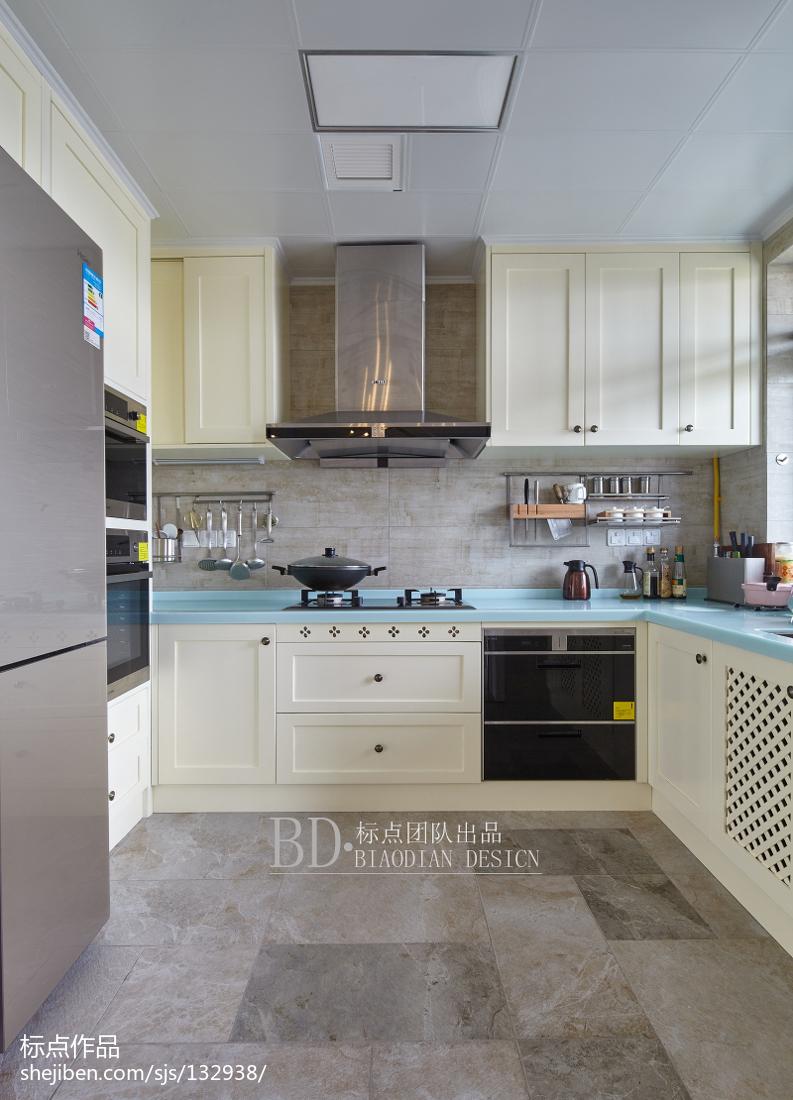 典雅109平北欧四居厨房装修美图