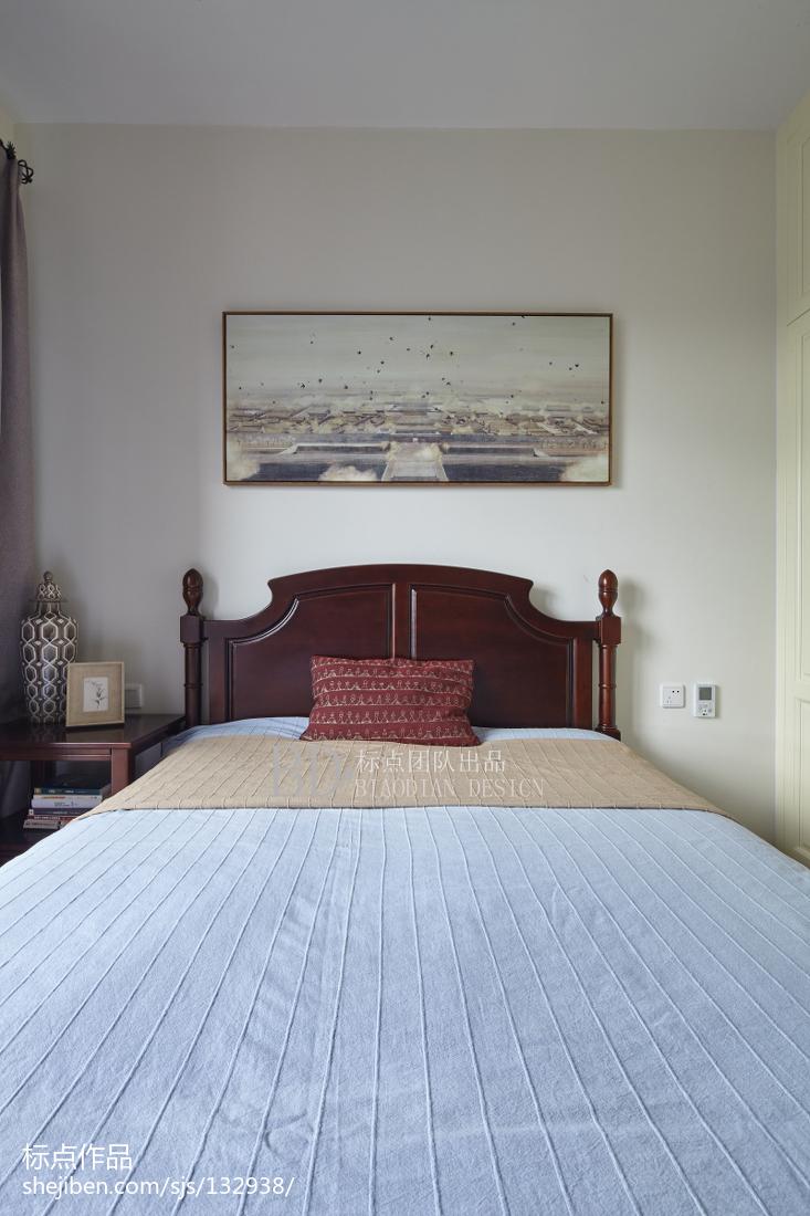 精致133平北欧四居卧室图片大全