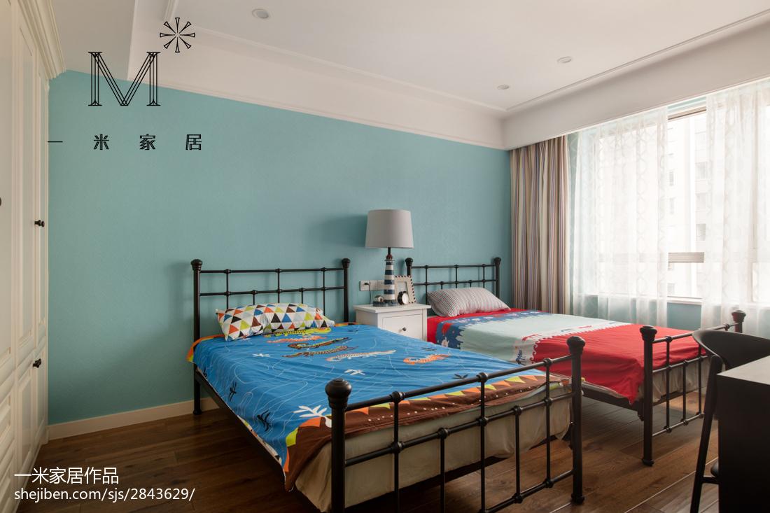 乡村美式格调儿童房设计