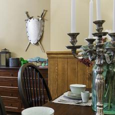 浪漫102平美式三居餐厅装饰美图