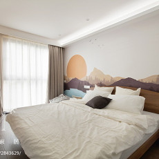 热门87平米二居卧室现代实景图片欣赏