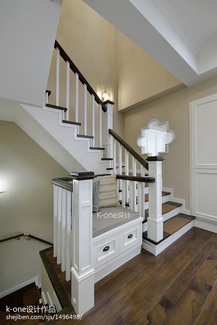 典雅么事風格樓梯裝修