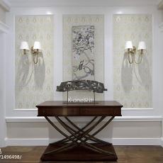精选113平米美式别墅玄关装修实景图片