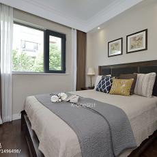 123平米美式别墅卧室装修欣赏图