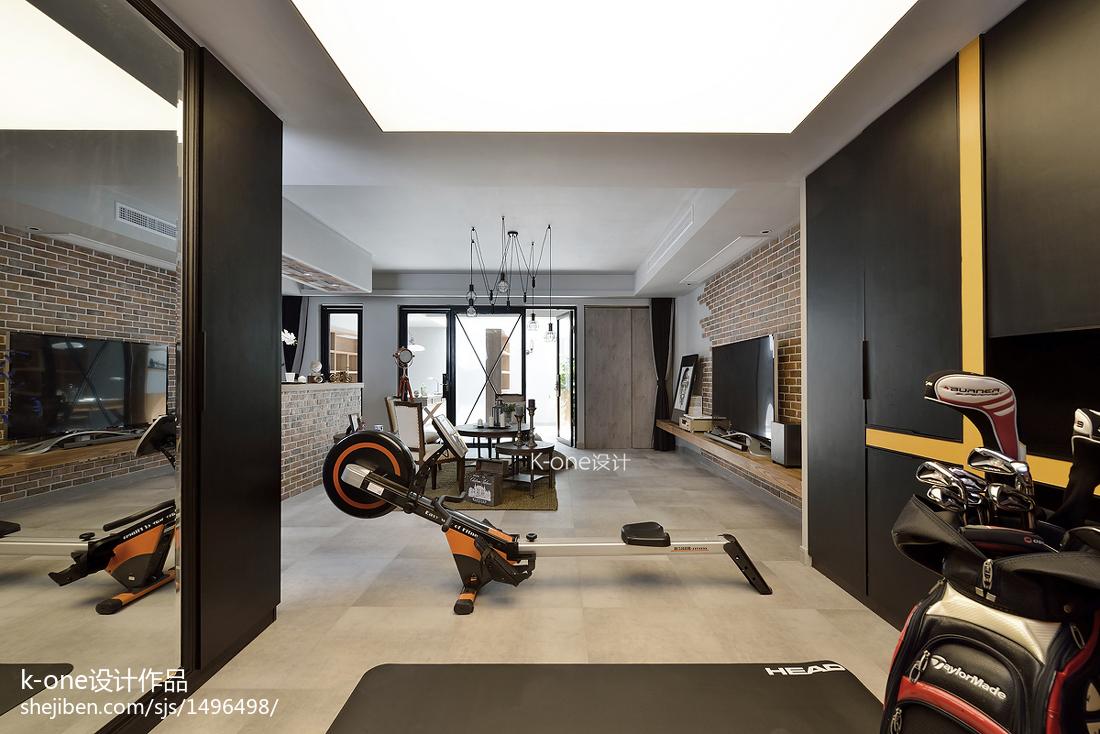 美式風格別墅地下室裝修