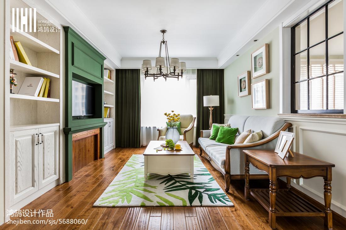 温馨美式风格家居客厅装修案例