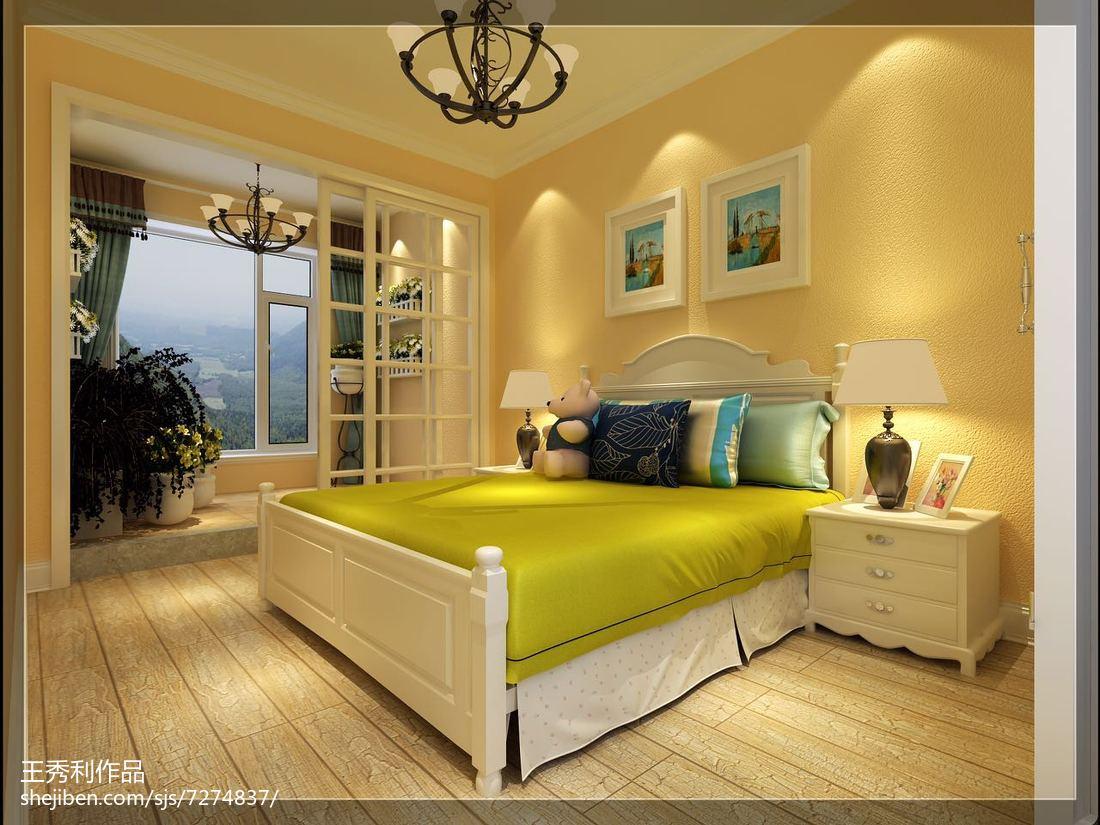 舒适北欧家居卧室装修效果图