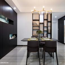 热门面积89平现代二居餐厅装修设计效果图片欣赏