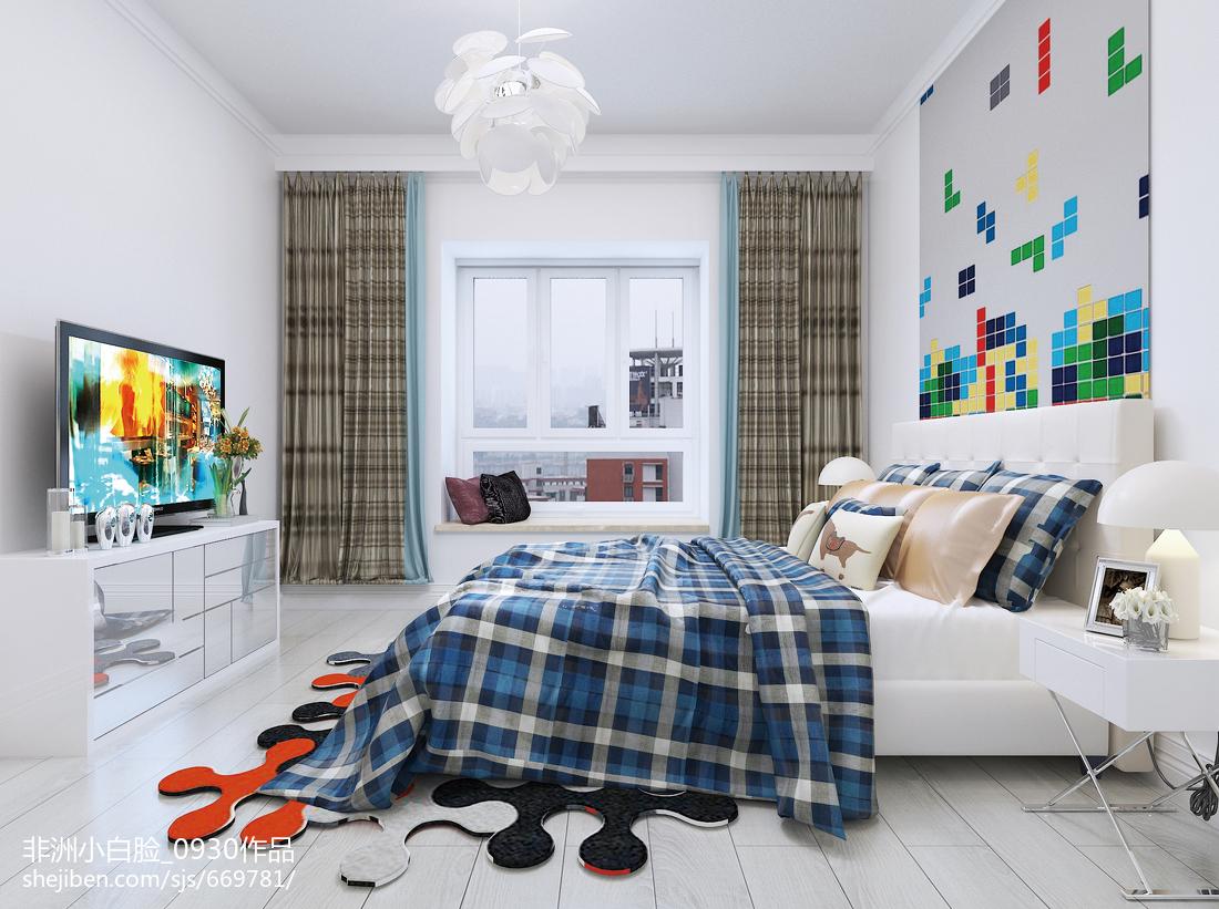 北欧装修设计时尚卧室精选图