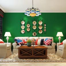 热门新古典二居客厅效果图片欣赏