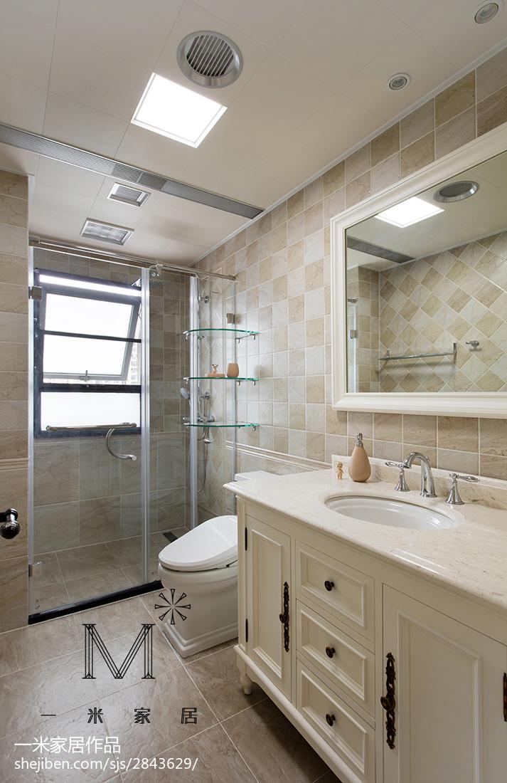现代美式风格卫浴装修