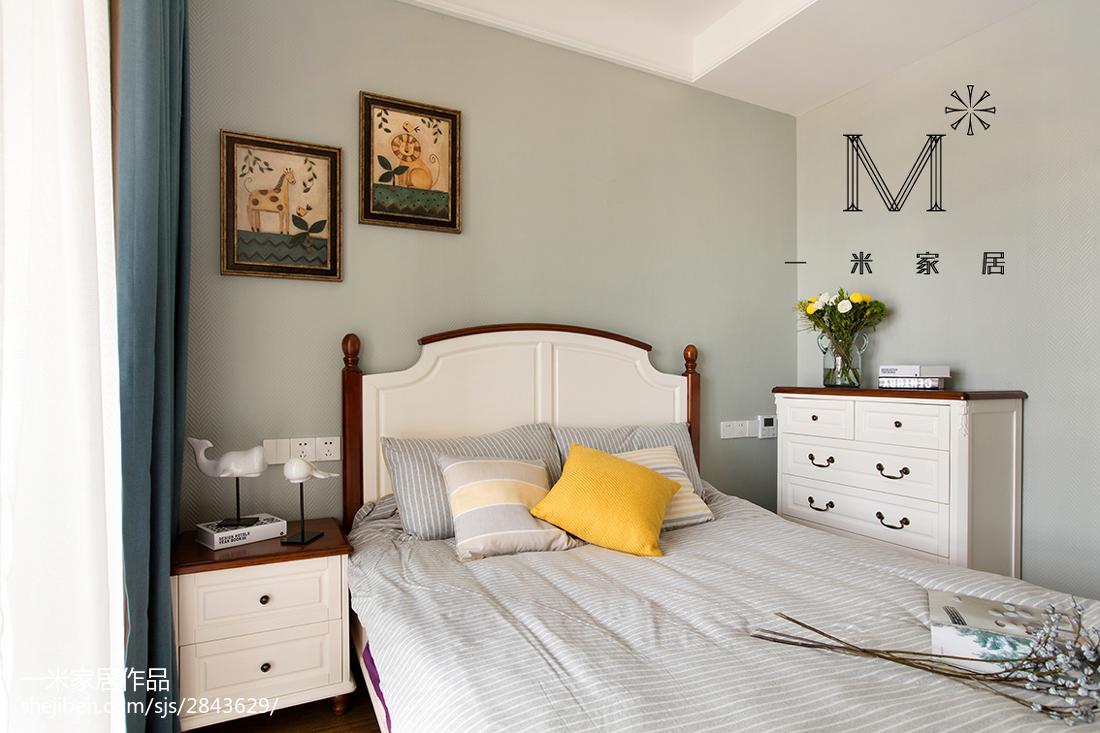精美84平美式二居装饰图片