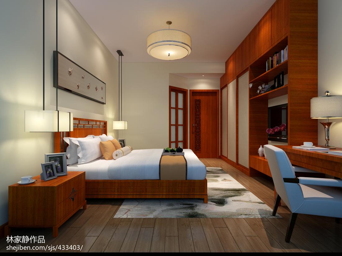 新中式三居住宅装修