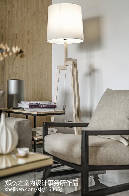 精选面积75平现代二居客厅设计效果图