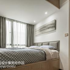 精美大小78平现代二居卧室装修图片大全