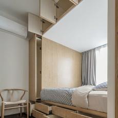 201890平方二居卧室现代装修设计效果图片欣赏